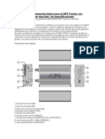 Manual Gps tracker Tk103 Español