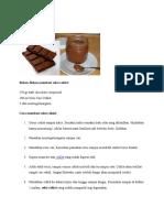 Resep Selai Cokelat