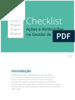 Checklist - Gestão de Pessoas