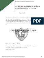 Milton Glaser Analyzes Olympic Logo Design Through the Ages _ Eye on Design