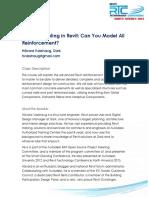 Revit Reinforcement Manual