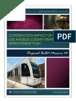 Economic Impacts of Metro's sales tax ballot measure
