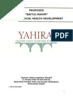 Proposol Klinik Pengobat Yahira@English Version 2014