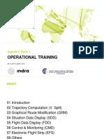 Operational Training INDRA