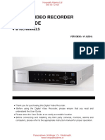 Pinetron XM3 DVR Manual