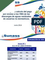 Metodología de cálculo del pago por exceso a los VMA de las descargas de aguas residuales de usuarios no domésticos - SUNASS (1).pdf
