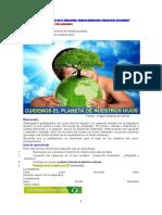 Educación y Cultura Ambiental