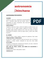 Gastronomía de Chincha