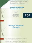 Prestige Telephone Company Case Study Report Unedited