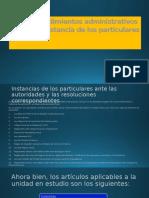 Procedimientos administrativos a instancia de los particulares.pptx
