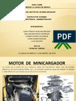 Motor de Un Mini Cargador