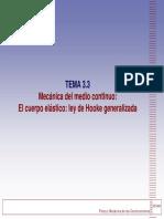 Tema 3 3 El Cuerpo Elastico Ley de Hooke Generalizada