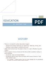 project 2- education