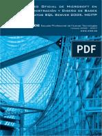 Curso Oficial de Microsoft en Administración y Diseño de Bases de Datos SQL Server 2005. MCITP