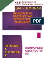 [Lab] Patología II - Neumopatias Obstructivas, Restrictivas y Vasculates