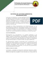 Sistema de Gestion Ambiental Buenaventura
