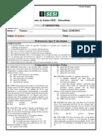 Estudo Dirigido (II) 1° Ano - 2° TRIMESTRE