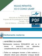 Ciclo de Palestras Formulas Infantis_Thaize