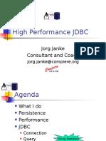 JDBC - HighPerformanceJDBC