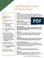 George Washington Carver and the Sweet Potato