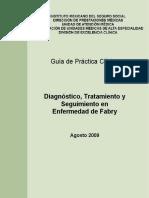 GPC Enfermedad de Fabry