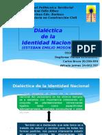 Dialectica de la identidad nacional