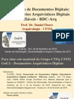 UFG - Preservação de Documentos Digitais- Repositórios Arquivísticos Digitais Confiáveis - RDC-Arq (Fev 2015)