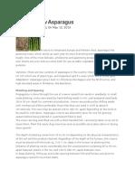 How to Grow Asparagus.docx
