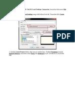 Cara Pembuatan File Land 2009