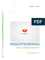 Insights June Current Events