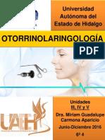 Otorrinolaringología Manual
