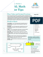 7th Grade Summer Math Packet   Decimal   Fraction (Mathematics)