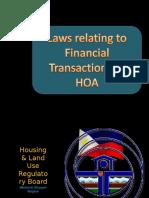 Law on Finance