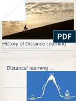 History of Distance eLearning Ppt