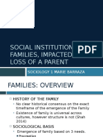 soc 1 project 2 families   loss