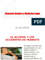 El alcohol y los accidentes de transito