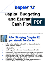 Capital Budgeting and Estimating Cash Flows