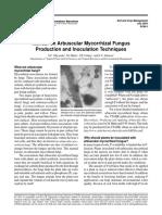 Production Manual on Arbuscular Mycorrhizal Fungus