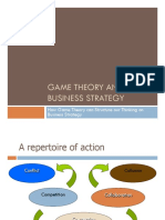 Game Theory and Business Strategy