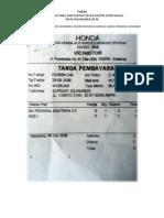 NORMALISASI TABEL DARI SEBUAH FAKTUR (STUDI KASUS)