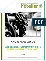 Know How Guide on Human Trafficking Awareness Branded