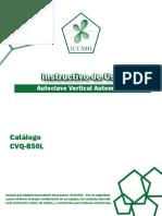 Manual Cvq b50l