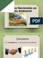 Convenios Nacionales