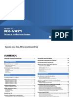 RX-V471 Manual Spanish1