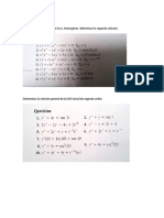 ecuaciones dieferenciales