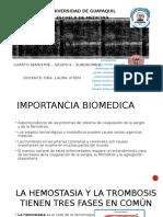 BIOQUIMICA DE HARPER Cap 51  Hemostacia y Trombosis