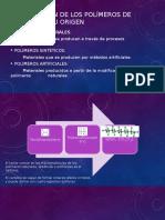 Clasificación de Los Polímeros de Acuerdo a Su Origen