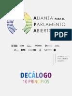 2015 DPA Presentación Diagnostico de Parlamento Abierto en Mexico