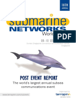 Submarine Network World 2015 Report