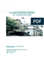ModelNtpc Summer Training Report
